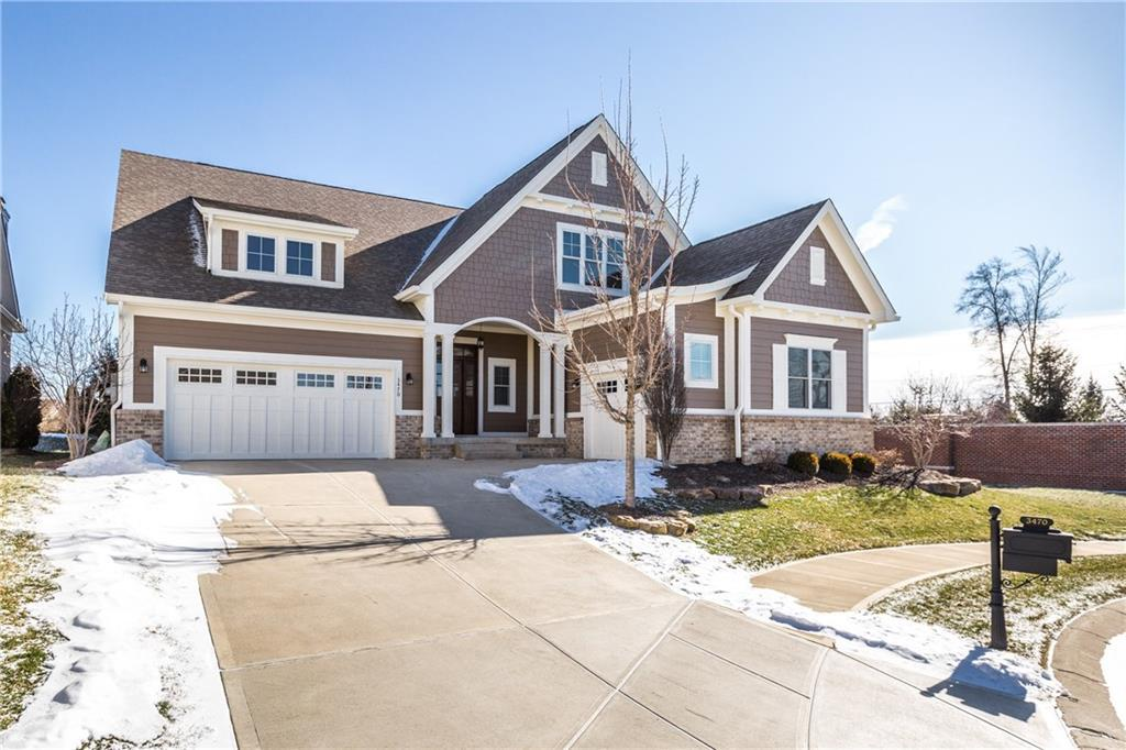 Photo of home for sale at 3470 Adare Circle, Westfield IN