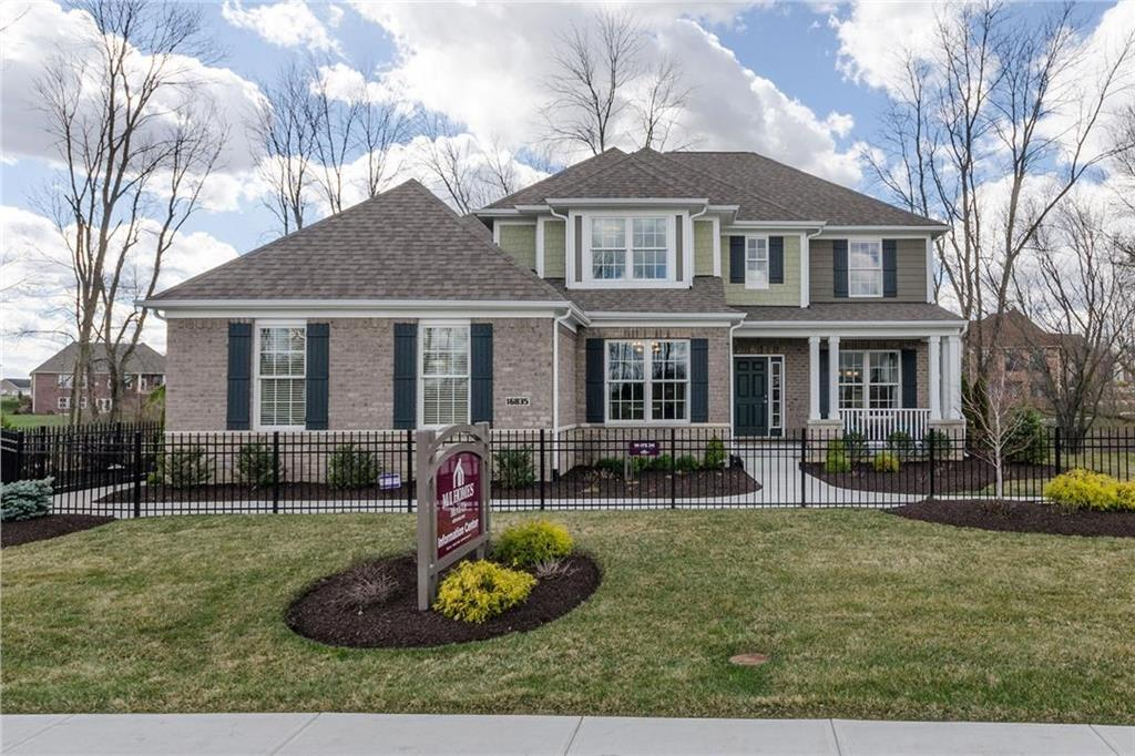 Photo of home for sale at 16835 Rosetree Court, Noblesville IN