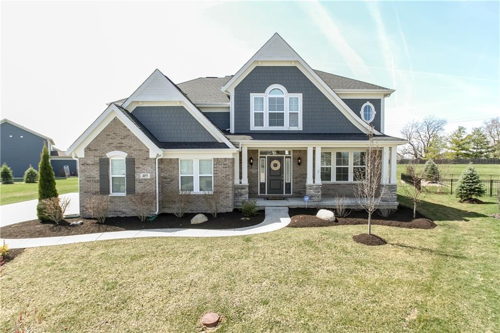 Photo of home for sale at 4855 Autumn Grove Court, Noblesville IN